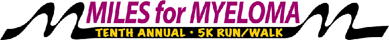 Miles For Myeloma 2018 Banner