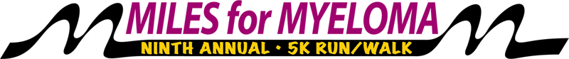 Miles For Myeloma 2017 Logo