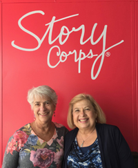 Maddie & Cindy at StoryCorps