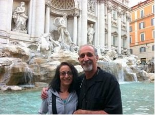 phil and barbara in italy